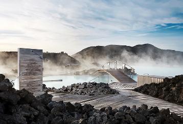 【BL34】  Reykjavik-Blue Lagoon including admission(バスターミナル16:00発|17:00入場)