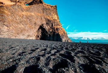 【AA-JSFRVK】南部を巡り、ヨークルスアゥルロゥン & 宝石ダイアモンドビーチ