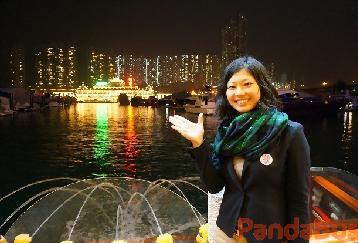 香港二大夜景観賞 ビクトリアピークと水上レストラン 夕食無し