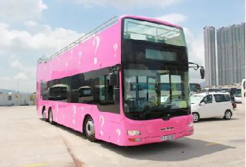 オープントップバス+女人街散策 香港夜景観光ツアー<日本語ガイド付き>