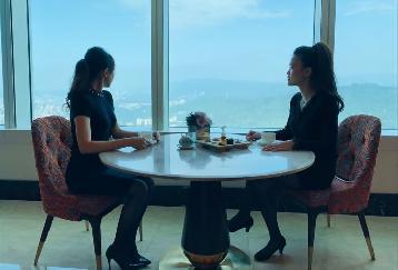 天空のアフタヌーンティー!!台北101の86階で優雅なアフタヌーンティー
